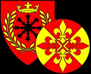 Kingdom device and Fleur badge
