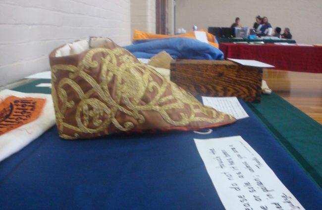 Gillian-Llewelyn---Embroider-Liturgical-Sandal-(Poisen-Shoe)