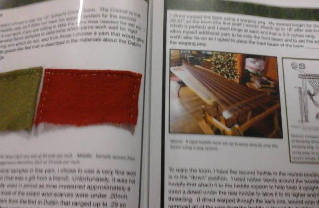 Álfrún ketta - Rigid heddle loom documentation