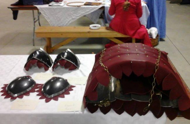 Enzo de Pazi - Armoring & Leather Work