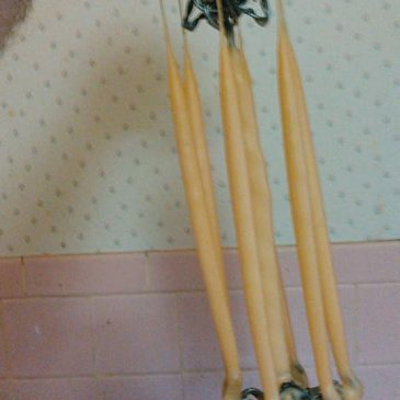 Newbie's First Candles and Tapers