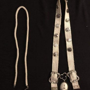 Three Accessories Woven with Silk