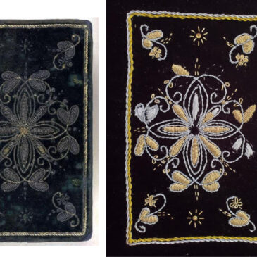Embroidered Book covers